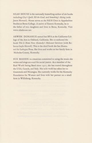 Larkspur Press :: 340 Sawdridge West, Monterey, Kentucky 40359